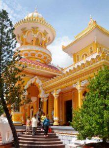 Tour Miền Tây - Độc đáo kiến trúc chùa Tây An