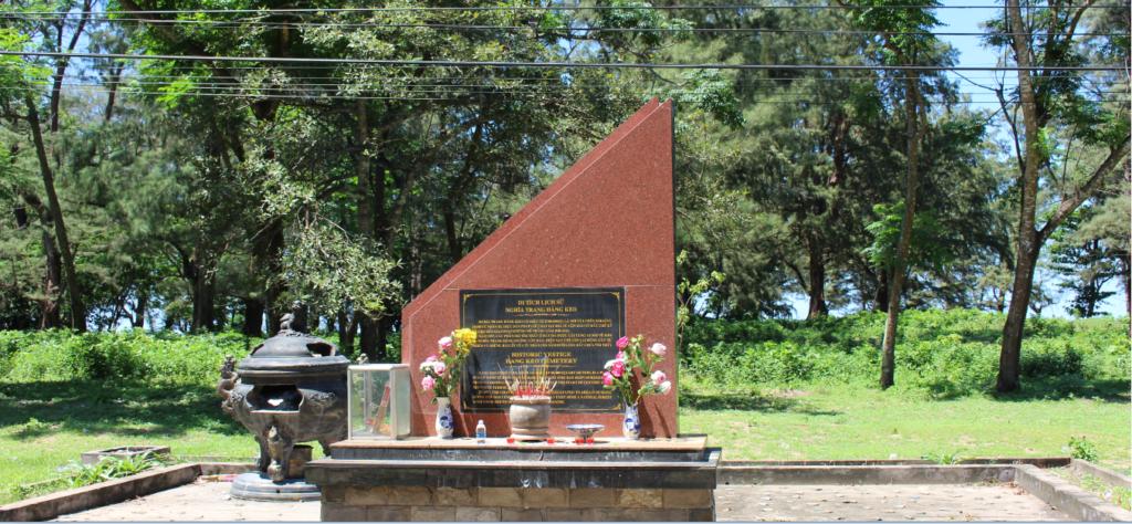 Nghĩa Trang Hàng Keo - Côn Đảo - Địa chỉ đỏ hành trình về nguồn.