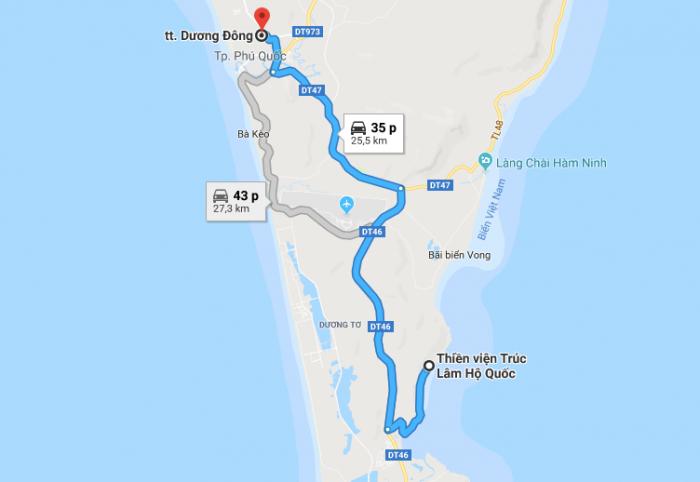 Chùa Hộ Quốc Địa danh tôn giáo khi đến Phú Quốc.